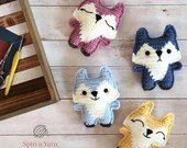 Pocket Fox Crochet Patter...