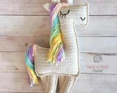 Ragdoll Unicorn Crochet Pattern