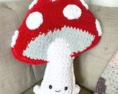 Mushroom Amigurumi Crochet Pattern