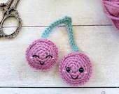 Kawaii Cherries Crochet Pattern