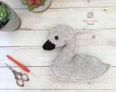 Cygnet Amigurumi Crochet Pattern