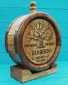 Oak Barrel Engraved Personalized Custom Barrel Wooden Etsy