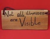 Not all illness are visible sign - small