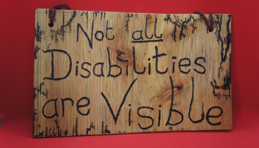 Not all disabilities are ...