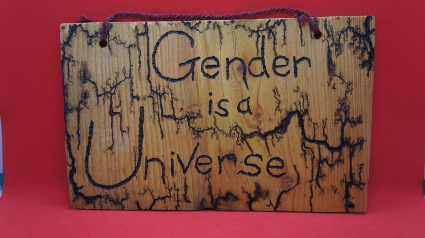 Gender is a Universe sign...