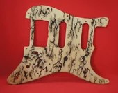 Stratocaster scratch plate with lichtenberg patterns [humbucker/single coil/single coil]