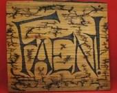 FAEN! sign, Lichtenberged - large