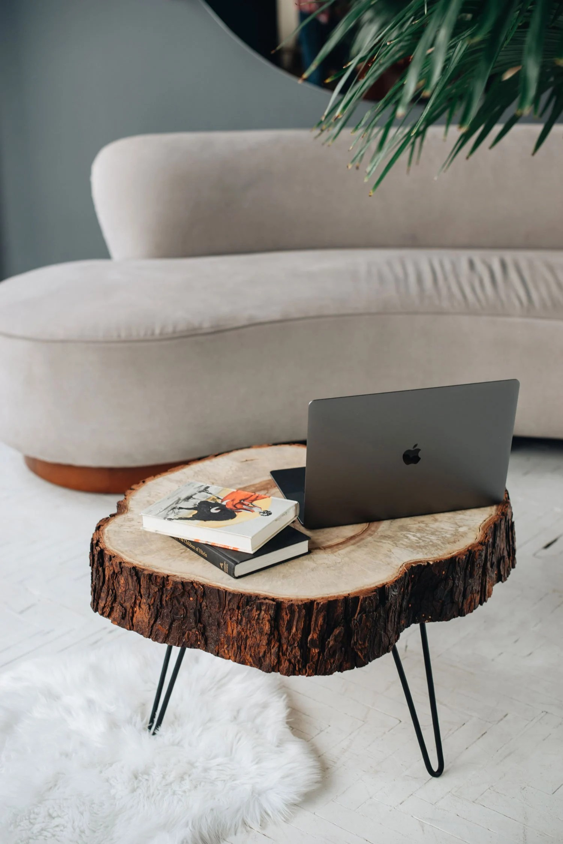 Coffee Table Wood Coffee Table Live Edge Coffee Table Etsy