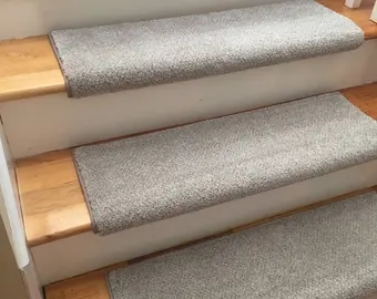 Bullnose Stair Treads Etsy   Bullnose Carpet Stair Treads   Contemporary   Adhesive Padding 31 Wide Tread Single 10 Deep   Marble Morden Stair   Stairway   Metal Stair