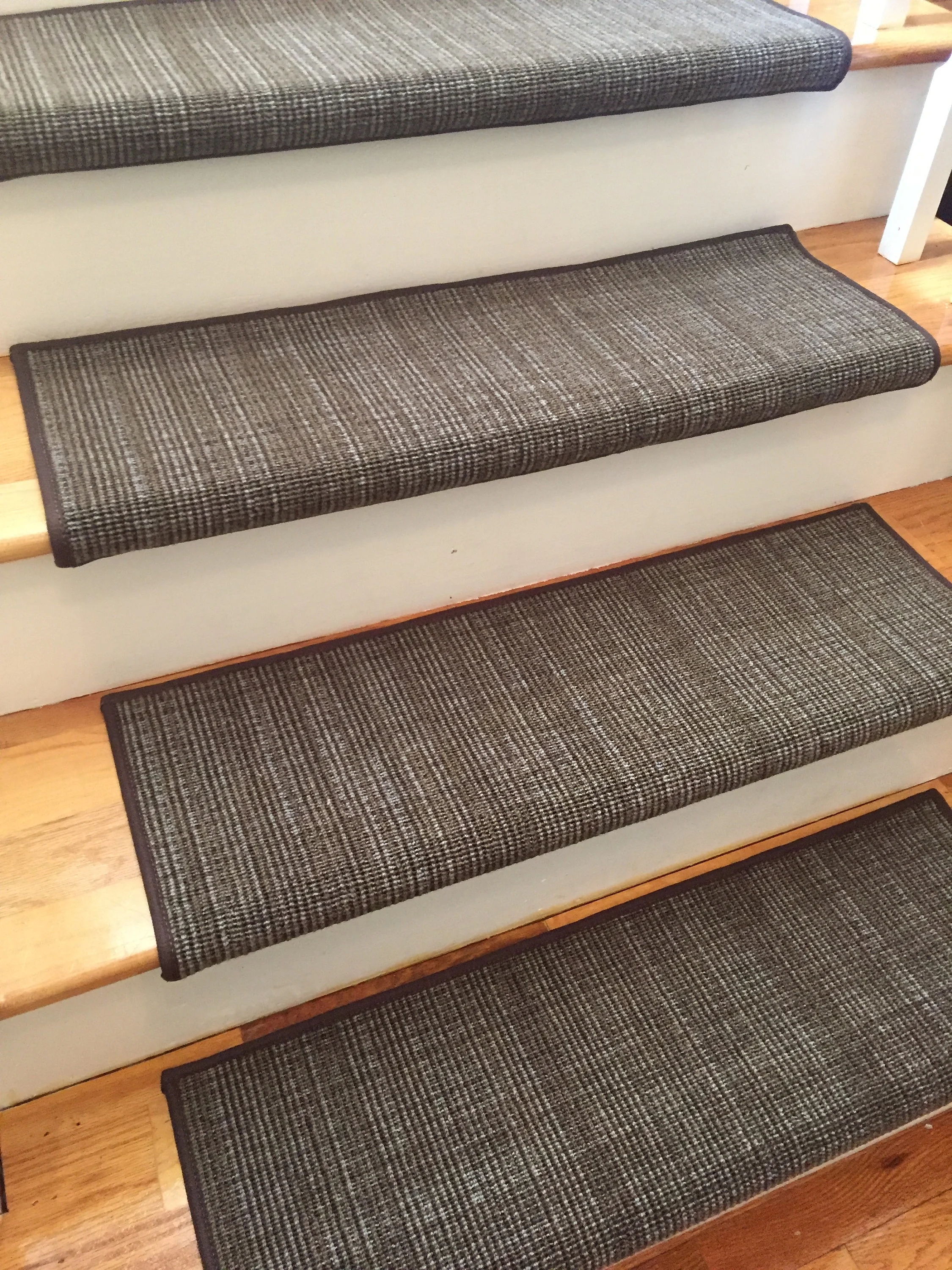 Traverse Earth And Other Colors True Bullnose™ Padded Carpet   True Bullnose Stair Treads   Rug Runner   Stair Runner   Flooring   Basement Stairs   Comfort Safety