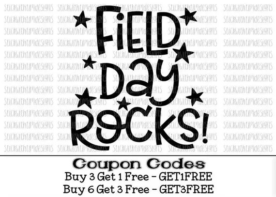 Download Items similar to Field Day Rocks Svg Field Day Svg School ...