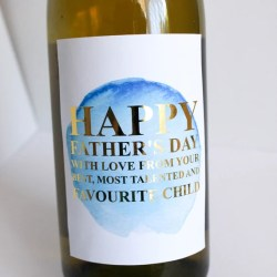Father S Day Wine Bottle Foil Labels Funny Father S Etsy