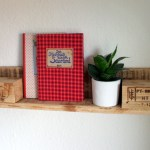 Small Shelf Made Of Pallet Wood Pallet Furniture