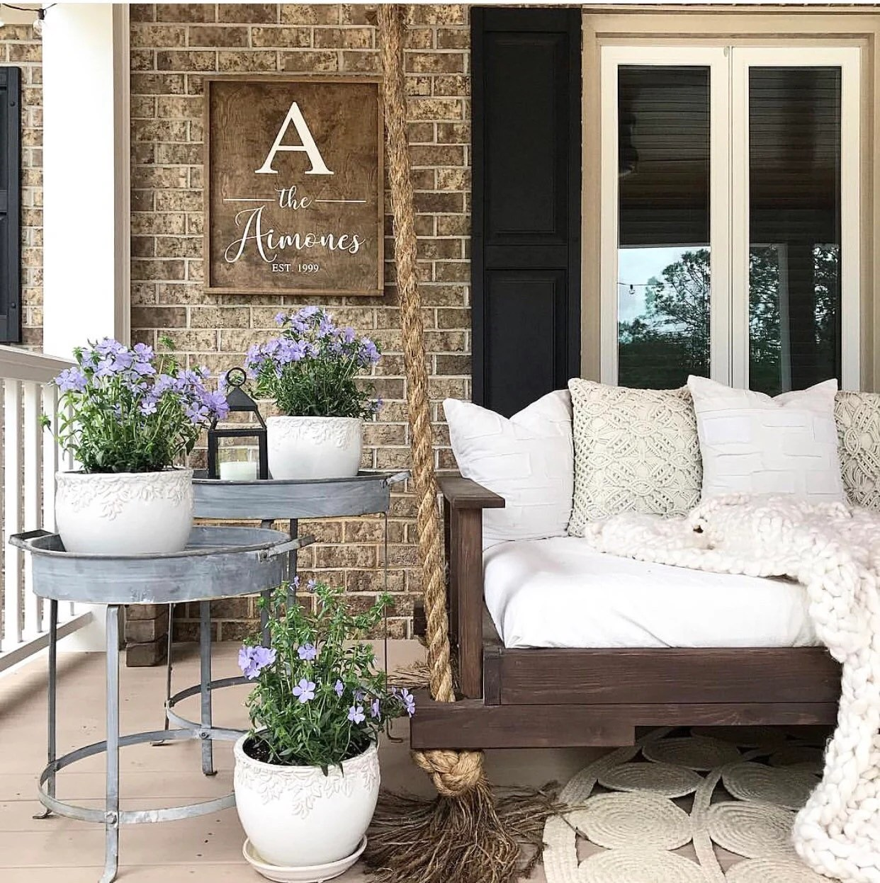 43+ Rustic Porch Ideas Background