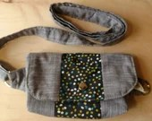 Organic cotton fanny pack -All natural materials