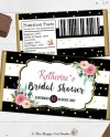 Printable Floral Chocolate Bar Wrappers Bridal Shower Etsy