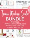 Frame Mockup Creator Scene Creator With Moveable Objects And Etsy