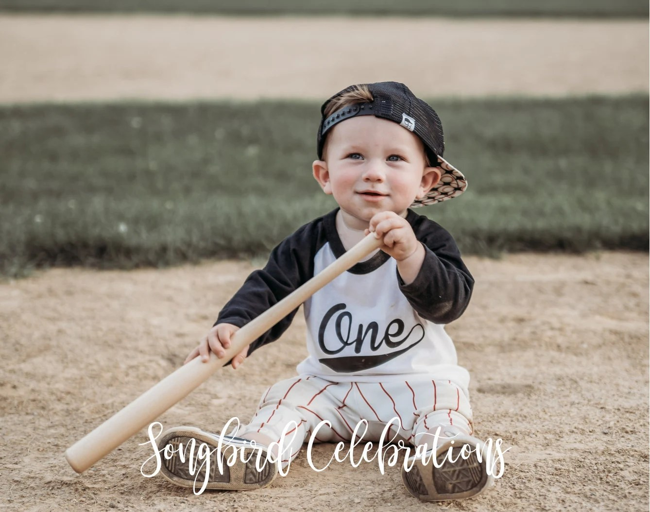 First Birthday Boy Baseball Shirt 1st Birthday Boy Shirt One image 4