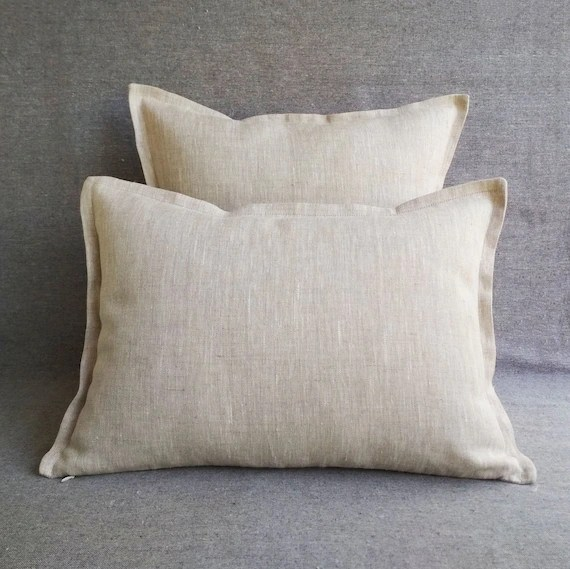 flax linen throw pillow covers 20x20 linen euro sham 26x26 gray lumbar pillow cover 12x20 14x36 20x54 18x18