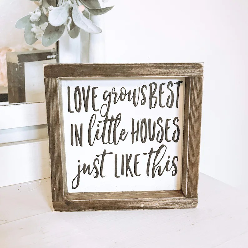 Download Love Grows Best in Little Houses Just Like This   Etsy