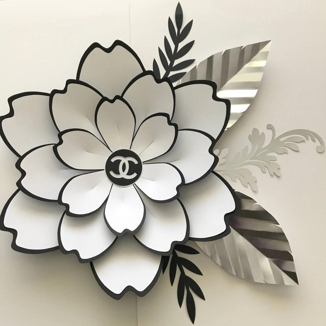 Download SVG Petal #100 Paper Flower Template, Digital Version, The ...