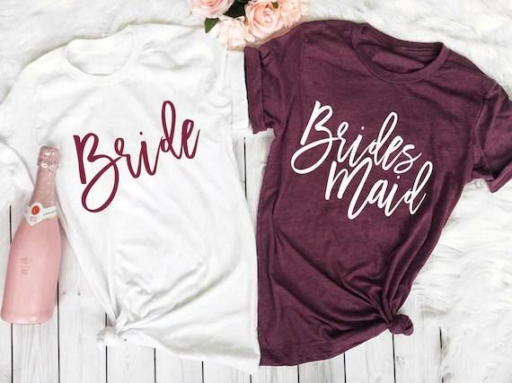 Bridesmaid Shirts Bridesmaid Proposal Bachelorette Party