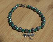 Dragonfly Charm Bracelet,...