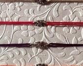 Simple Floral Charm Hemp Bracelet