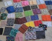 Fabric Quilters Scrap Destash/ Quilters Cotton Fabric Scraps/ Blanket Making Scraps/ Quilter Supplies/ OBO
