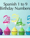 Spanish Cake Topper Birthday Numbers Svg Svg Cut File Cake Etsy