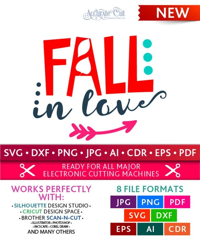 Download Fall in Love Svg Thanksgiving Fall Fall in Love Cut Files ...
