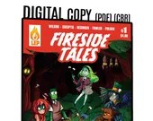 Fireside Tales - Issue #1 - PDF - Digital Copy - Monsters - Comic Book - Indie Comics - Last Ember Press - Super Hero - Robots
