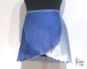 Ombré ballet skirt blue ...