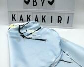 """Ballet wrap skirt """"Sakura Sauté"""" made of silky chiffon"""