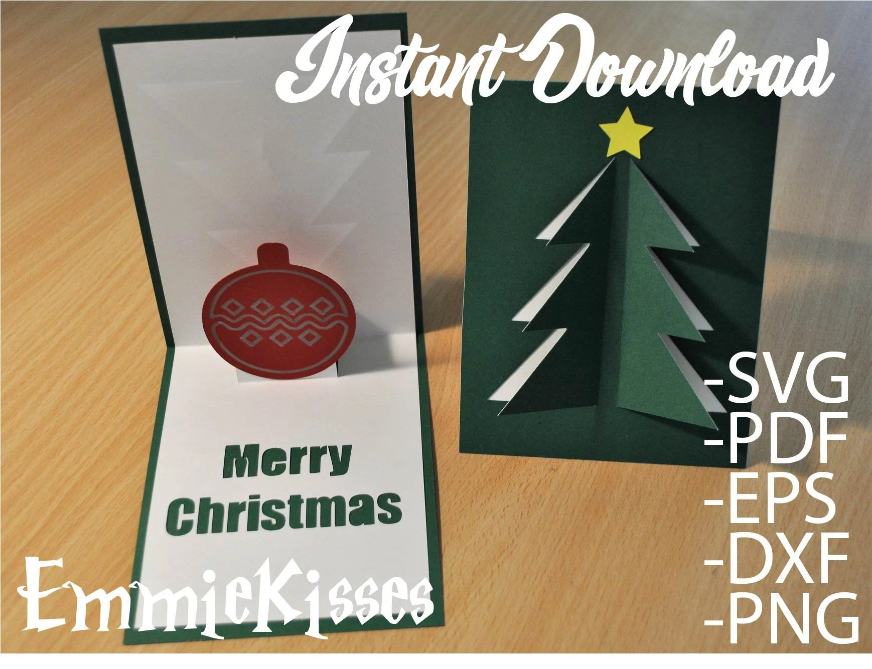 If you like this tutorial, join our facebook community where i post other free svg files and resources! 3d Pop Up Christmas Card Svg Cutting File Instant Download Etsy