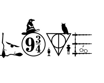 Download Harry potter decal   Etsy