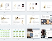 Horizontal Product Catalog Canva Template for Product Catalogs, Magazines and Media Kits - Shop Catalog Canva Template - 20 Pages