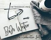 Bujo Writer Font