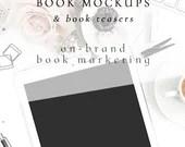 Book Mockup & Book Teaser Images | Indie Author Publishing | Graphic Designer Mockups | Unique Mockups | Image Apothecary Mockups