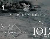 Blogger Logo, Premade Blogger Logo, Branded Logo, Nautical Theme, Nautical Branding, Nautical Logo, Watermark, Photography Logo