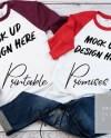Couples Raglan T Shirt Mockup Fall Shirt Mockup Gildan 570 Etsy