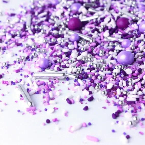 Sprinkle Pop Perfectly Purple Sprinkle Mix