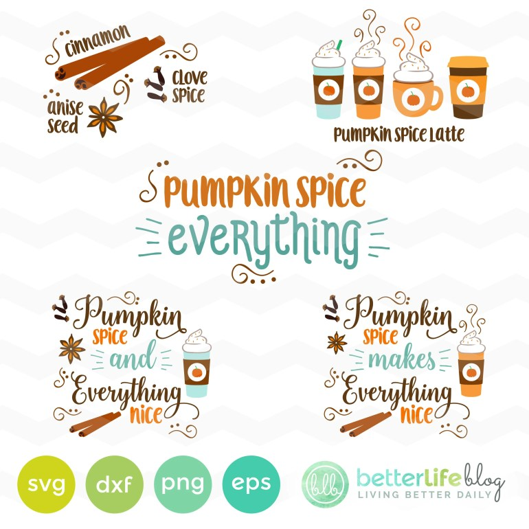 Pumpkin Spice SVG File: P...