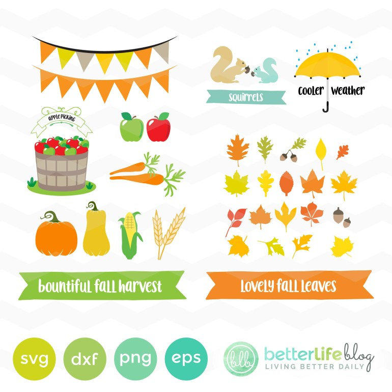 Fall Harvest SVG File: Fa...