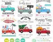 Trucks SVG Bundle: Hearts...