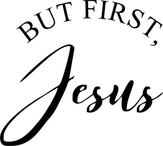 Download Jesus Saying SVG   Etsy