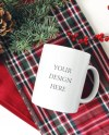 Mug Mockup Blank Mug Coffee Cup Mockup Winter Mug Etsy