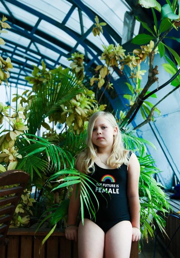 Girls black swimsuit Kids One piece bathing suit Girls | Etsy