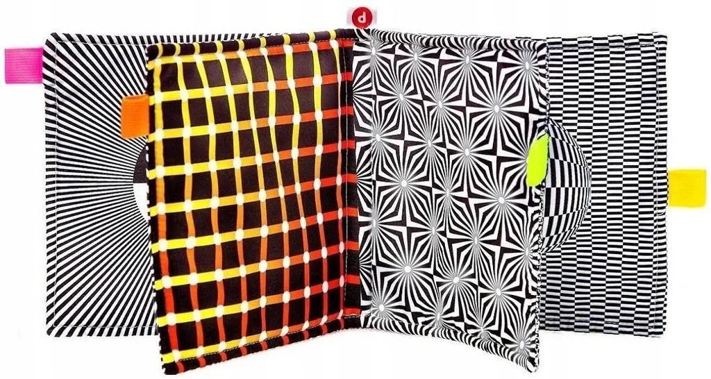 SENSORY BOOK BABY High Contrast Baby Newborn Gift Cloth image 6