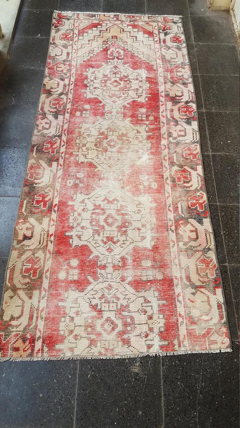 7 1x2 7 Runner Rugs Boho Rugs Distressed Turkis Vintage Rugs Carpets Rugs Distressed Turkish Oushak Rugs Oriental Rug Stly Rugs